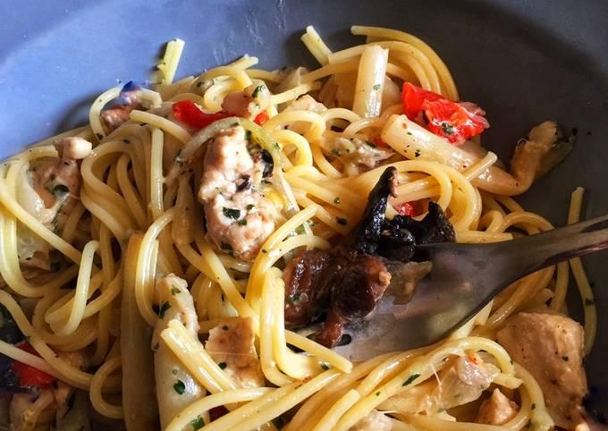 Spaghettis asperges