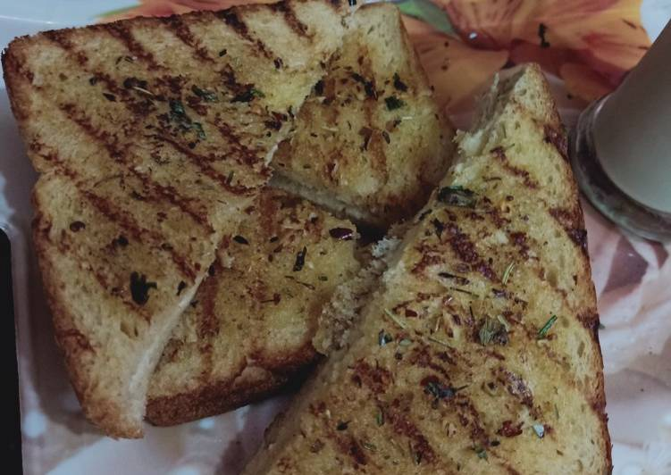 Cheesy Garlic Bread