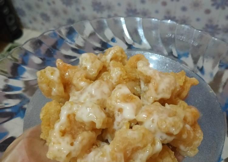 Udang mayonaise ala resto