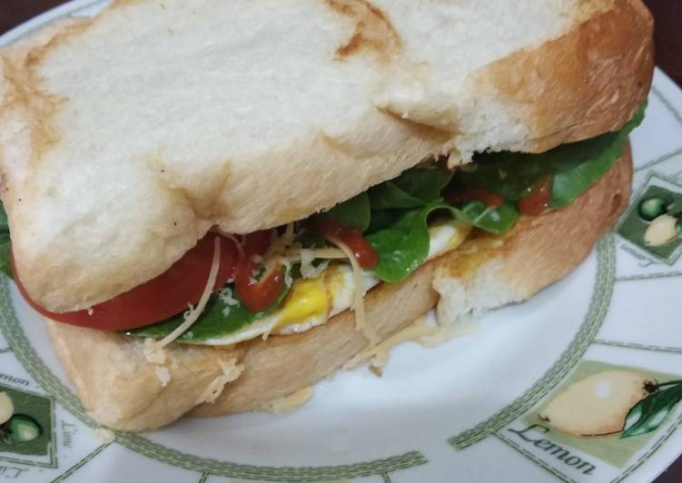 Resep Homemade Sandwich Paling Mudah