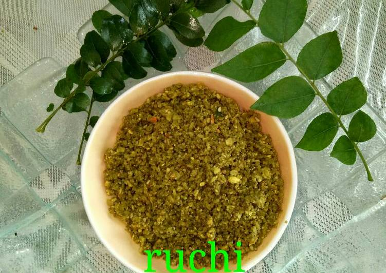 Steps to Prepare Top-Rated Curry leaves ki chutney