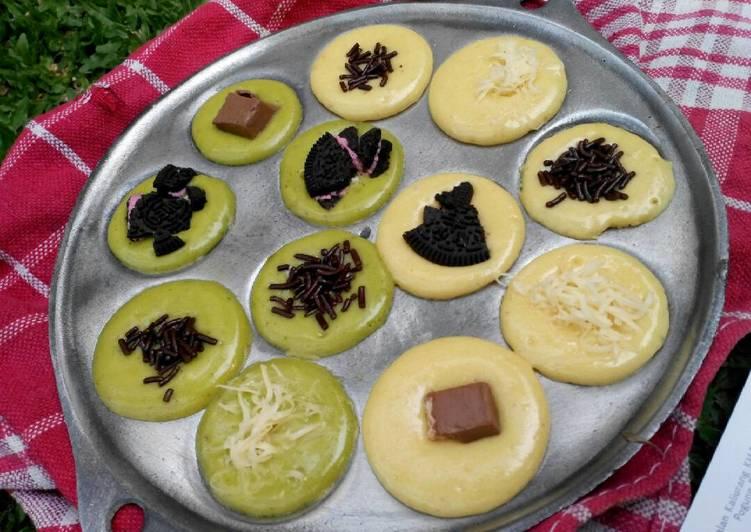 Resep Kue Cubit Modifikasi Oleh Rizky Samty Ayuningtyas Cookpad