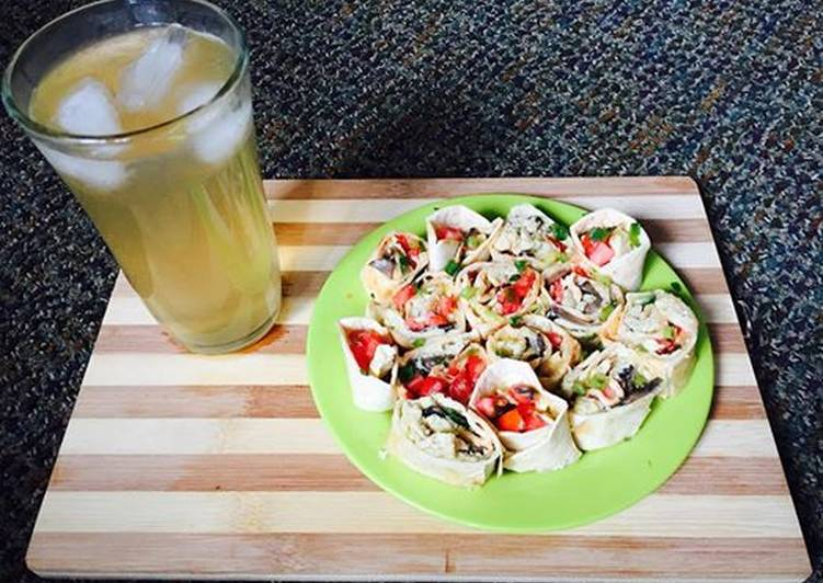 Simple Way to Prepare Speedy Breakfast Burrito Pinwheels