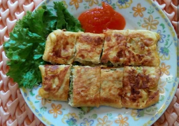 Martabak Daging (No Tepung) #HariGiziNasional2019)