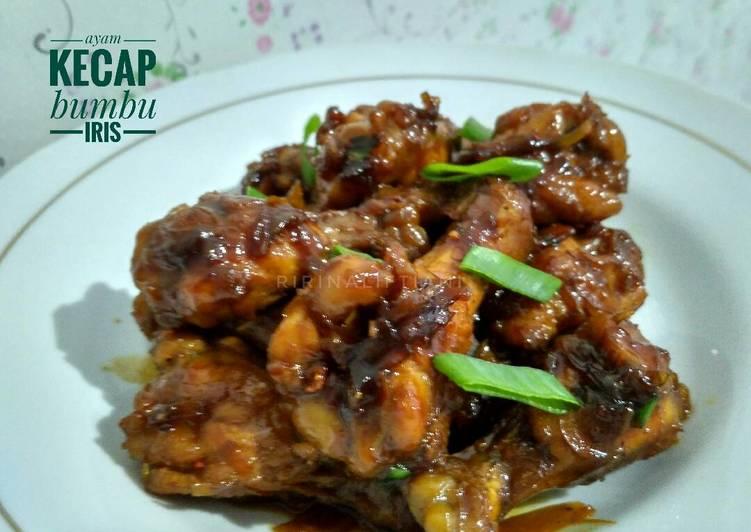 Resep Ayam Kecap Bumbu Iris Oleh Ririn Aliftiani Cookpad