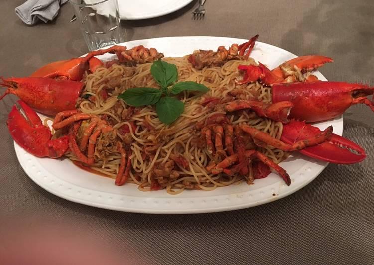 Spaghetti all'aragosta (Lobster)