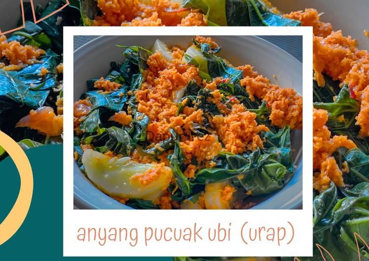 Anyang pucuak ubi khas minang (urap)