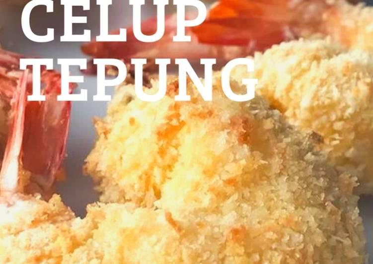 Udang Celup Tepung Air Fryer - resepipouler.com