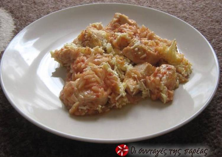 Recipe of Favorite Giouvetsi with chicken