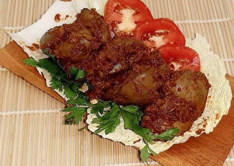 Balado Ati Ayam