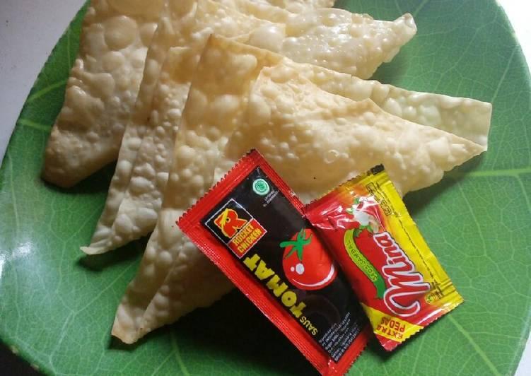 Martabak Crispy Kulit Pangsit (Simpel)