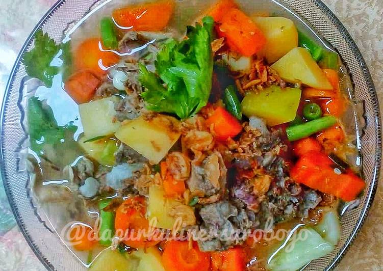 Sayur sop mudah dan sehat