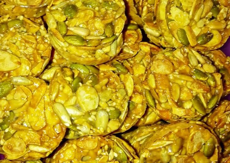 Almond Crunchy versi Air Fryer #MaratonRaya #KudapKudap - resepipouler.com