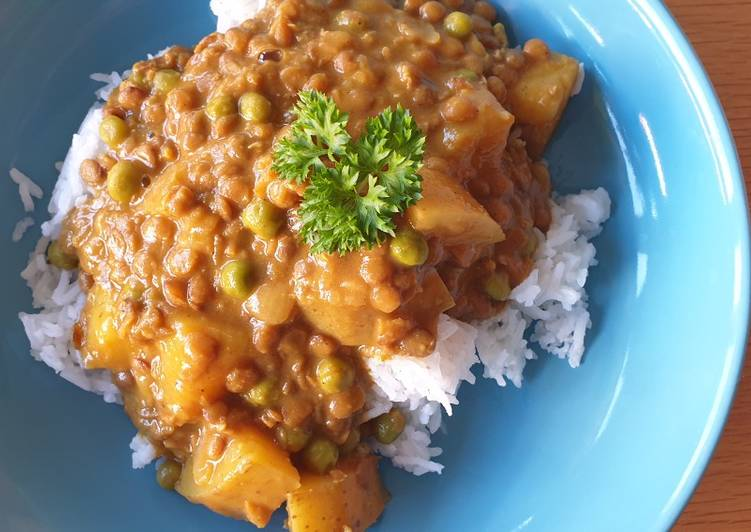 Foods That Make You Happy Vegetarian lentil curry