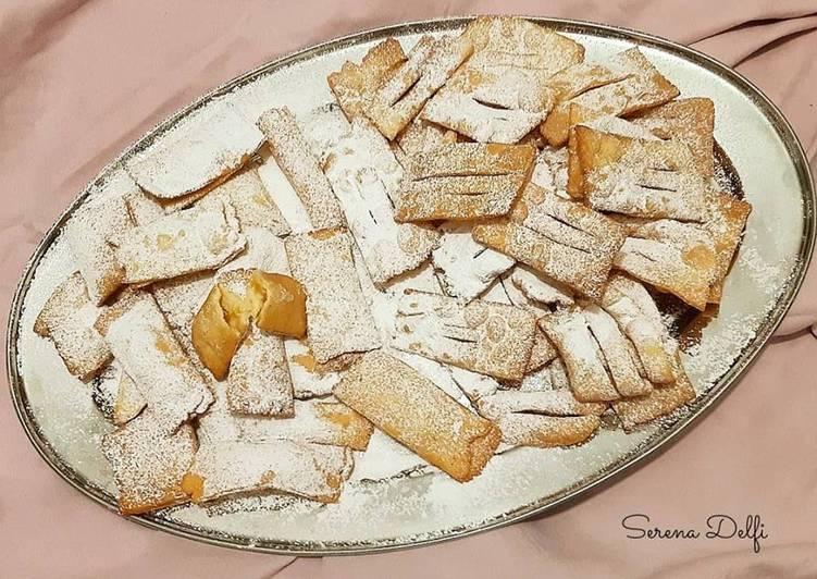 Ricetta Cenci toscanacci