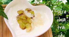 Hình ảnh món Ăn dặm- sữa chua trái cây