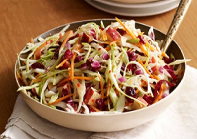 Easiest Way to Prepare Yummy Healthy Cran-Apple Slaw
