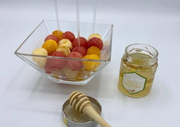 Comment Préparer Les Salade de Fruits d'Été
