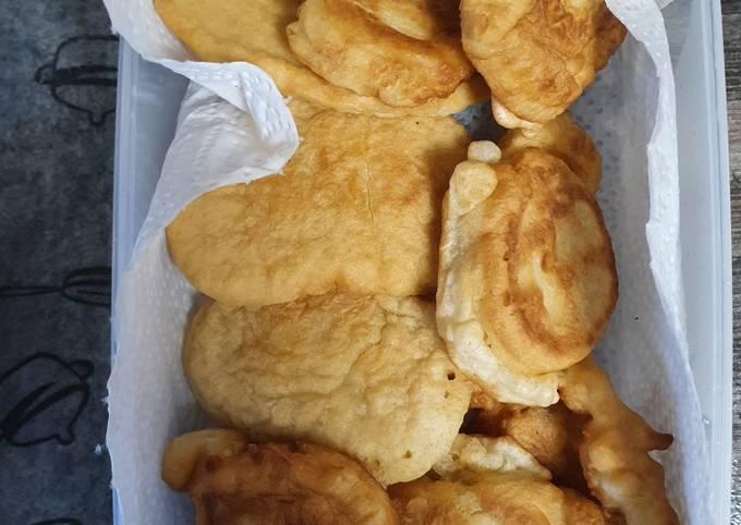 Uštipci (fast breakfast, when you have no bread)