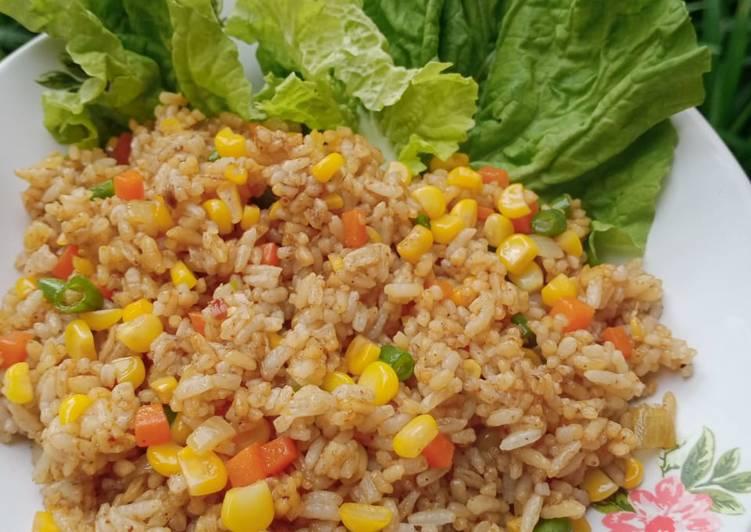 Nasi Goreng rasa Rendang || Simpel