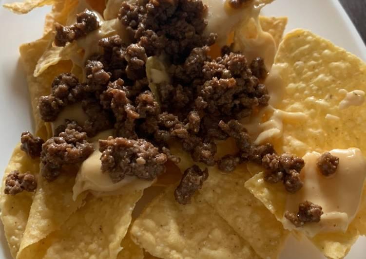 Recipe: Yummy Beefy Nachos