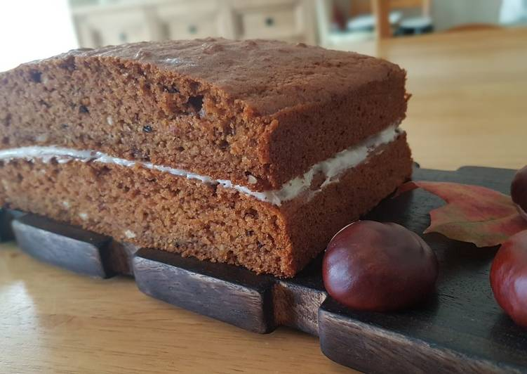 Recipe of Homemade Carrot-Apple-cinnamon eggless cake