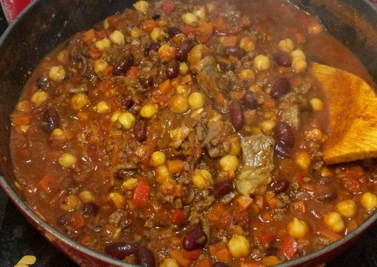 Easiest Way to Cook Yummy Chilli Con Carne