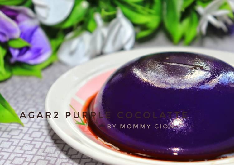 Agar2 purple chocalate #debm
