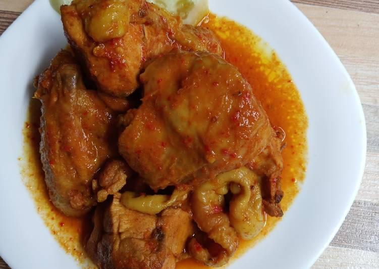 Resep Ayam Lodho kecap Yang Gampang Enak