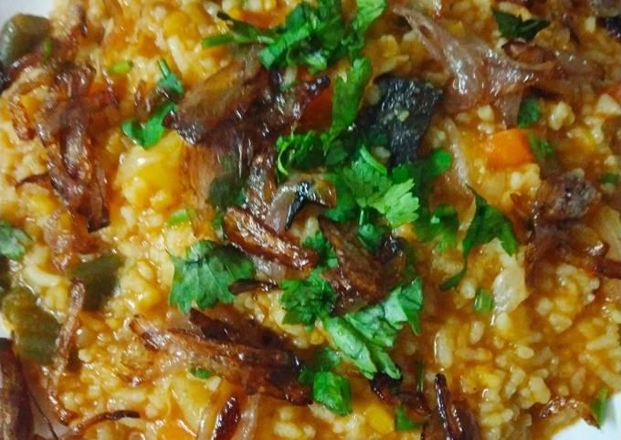 Bengali khichuri recipe