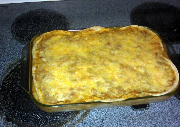 Chicken Chili Lasagna