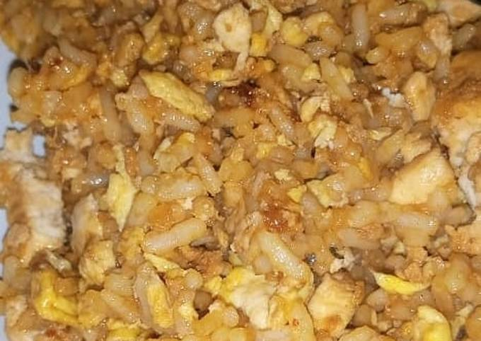 Nasi goreng sehat tanpa minyak