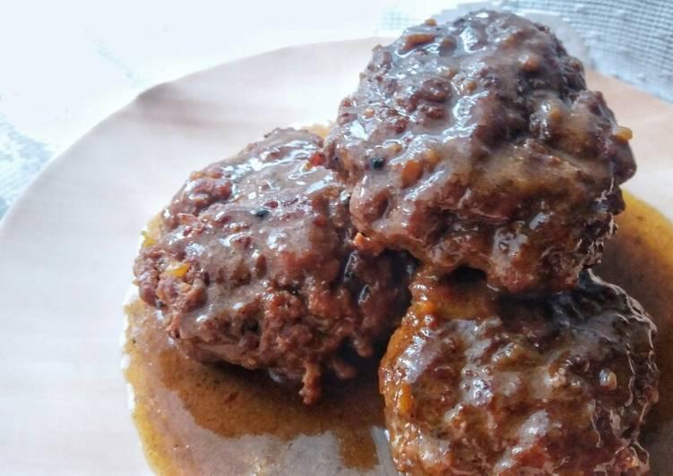 Recipe of Quick Burgers With Gravy