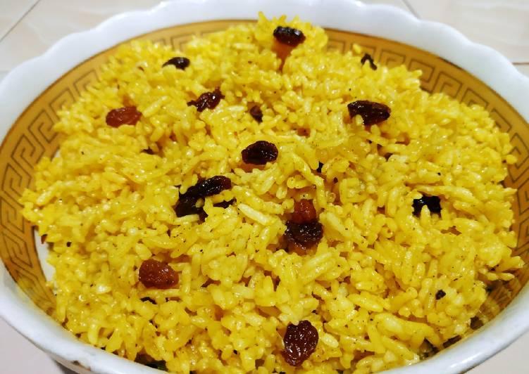 Nasi minyak / Samin bumbu kuning