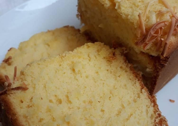 cara masak Bolu Tape Keju Panggang Lembut Ga Pake Bantat #Sept10 - Sajian Dapur Bunda