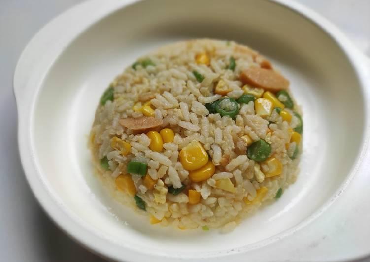 Nasi Goreng Butter Vegetables