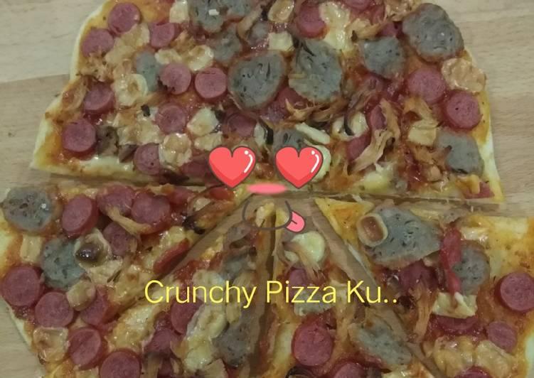 Langkah Mudah untuk Membuat My Crunchy Pizza 😄, Bikin Ngiler