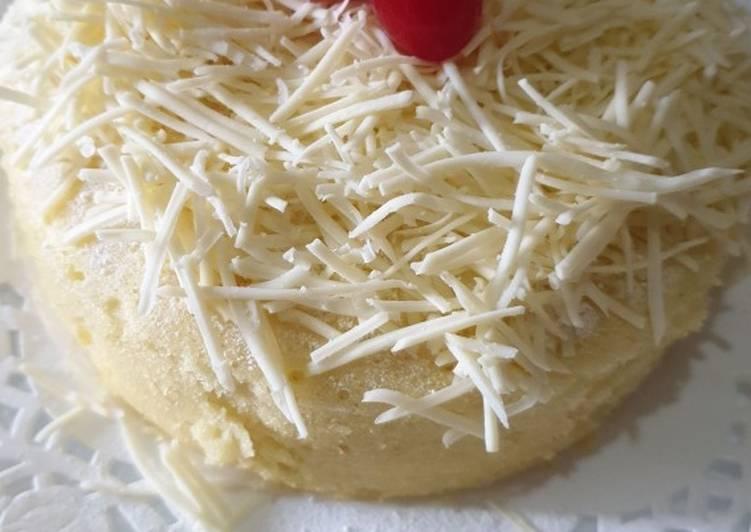 (Salin dari) Steam Cheese Cake Bolu Kukus Keju Lembut Mengembang