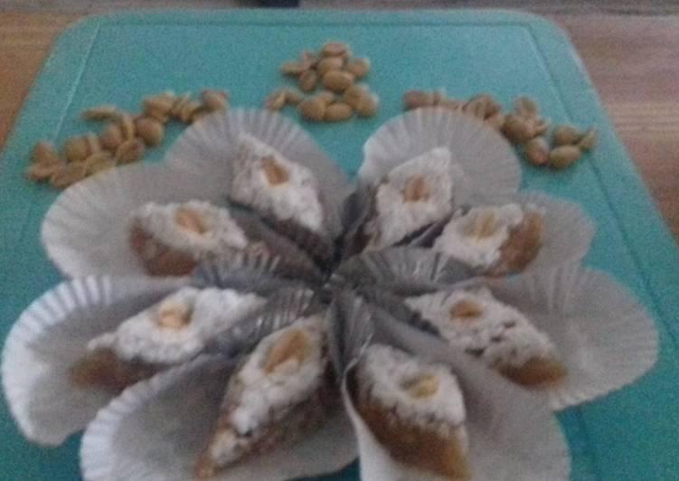 """Gateau algerien """"taminet el cacahuète"""""""