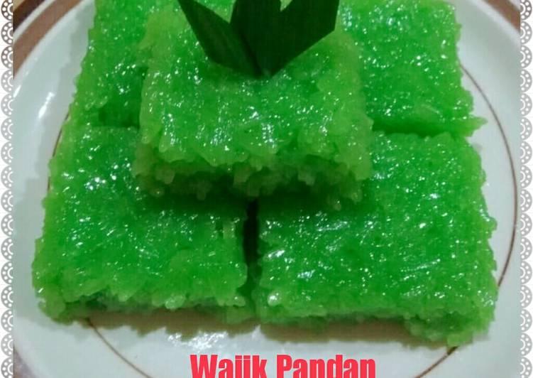 Resep Wajik Pandan Oleh Calya Firgia Cookpad