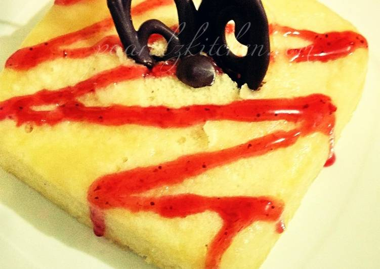 Best Comfort Dinner Easy Favorite Microwave Eggless Vanilla Cake