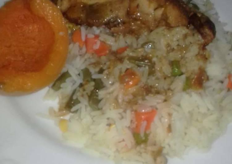 Steps to Make Ultimate Savoury rice