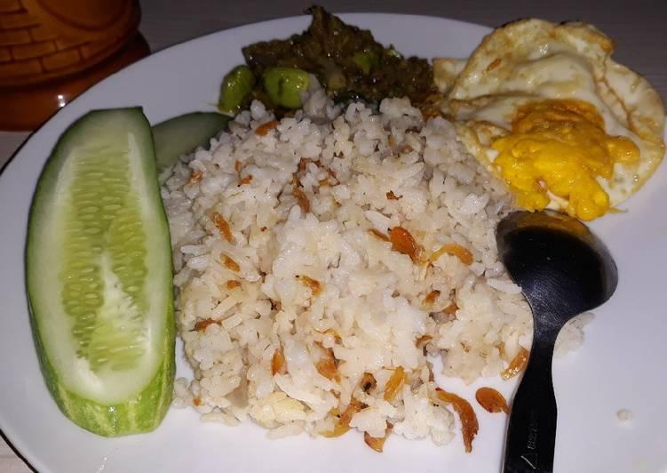 Cara Gampang Menyiapkan Nasi liwet mantabb👍 , Sempurna