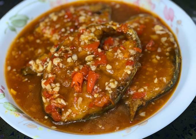Ikan Tenggiri Sos Thai