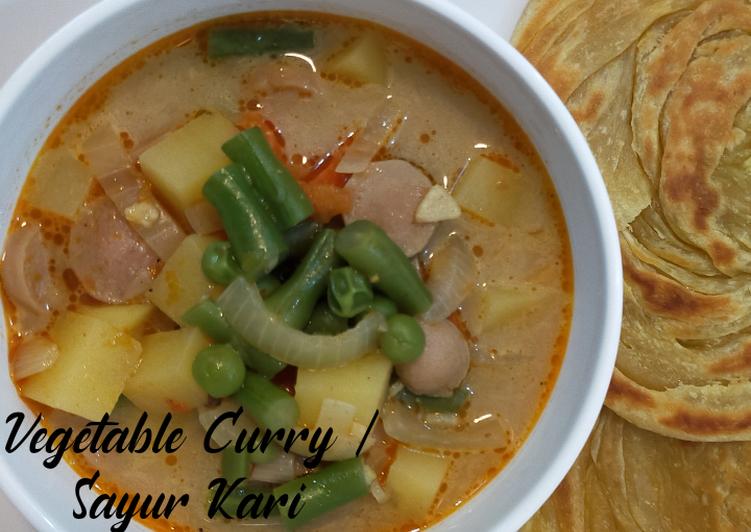 Vegetable Curry /Sayur Kari
