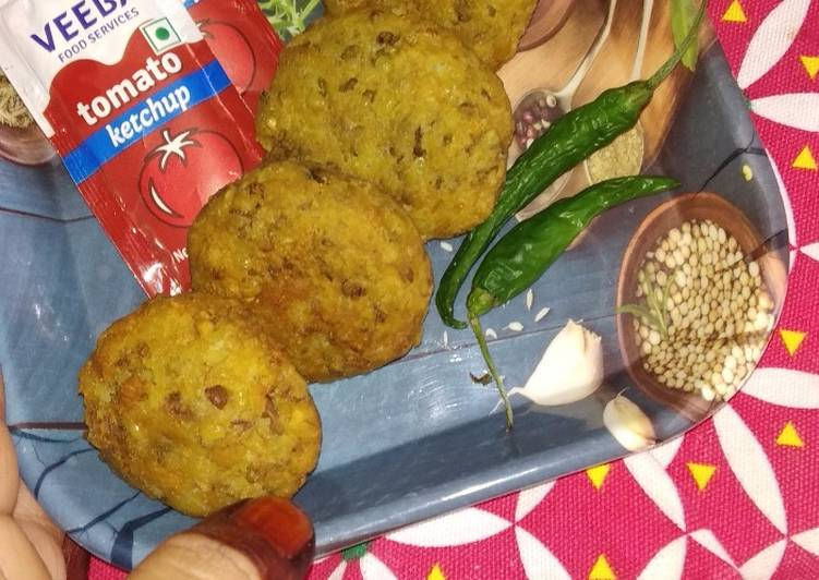 How to Make Perfect Sprouted moong cutlet