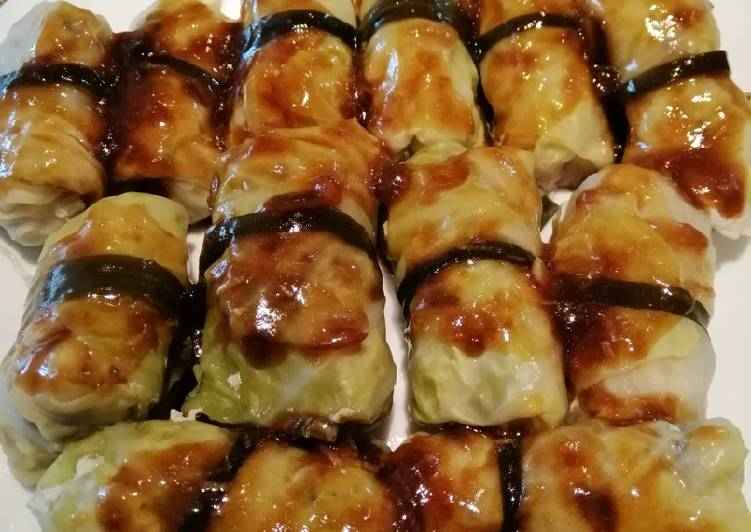 How to Boost Your Mood with Food Cabbage Roll Tied w/ Seaweed