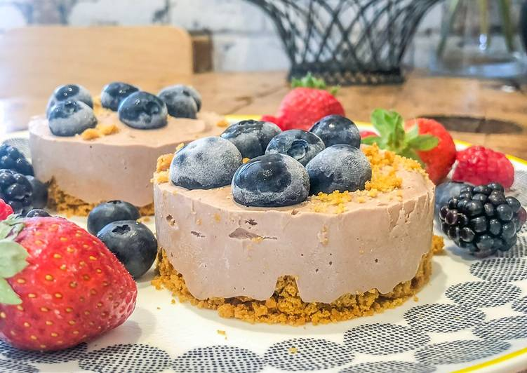 Recipe of Any-night-of-the-week Low Fat Low Sugar Cheesecakes
