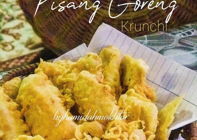 Pisang Goreng Krunchi