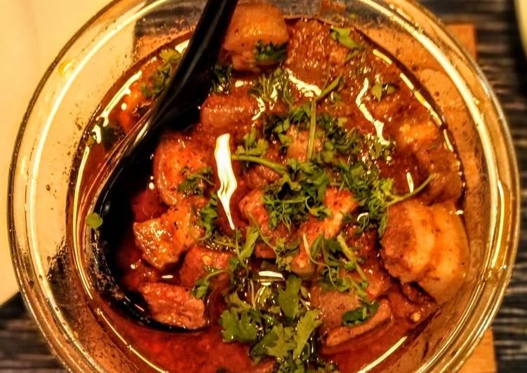 Tangy Goan Pork Curry Recipe By Abhimanyu Ghoshal Cookpad